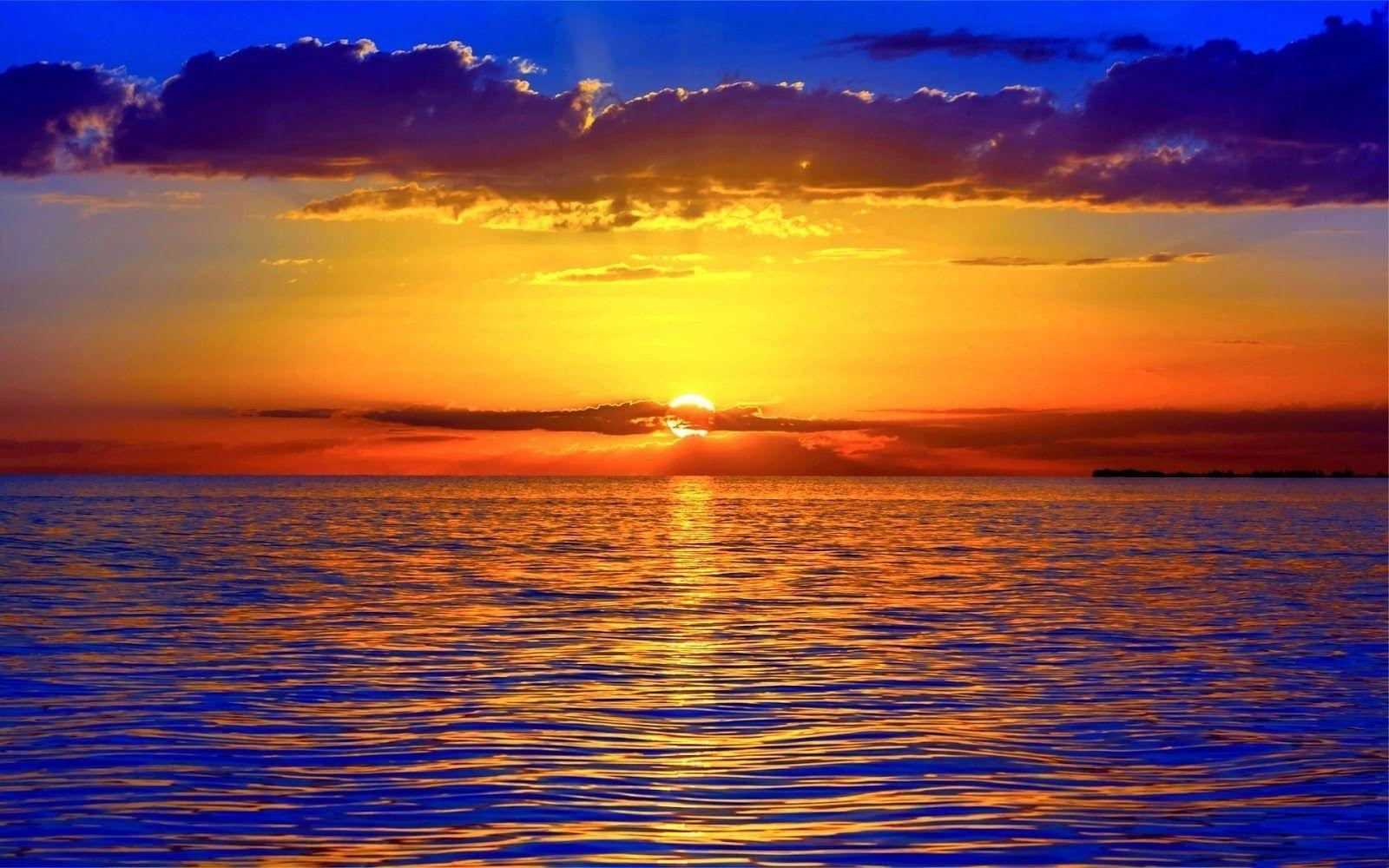 ocean sunset wallpapers - wallpaper cave