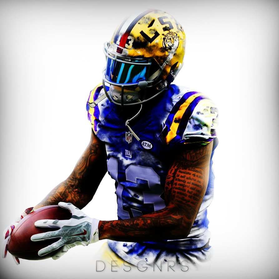 odell beckham jr edit desgin wallpaperej-gfx on deviantart