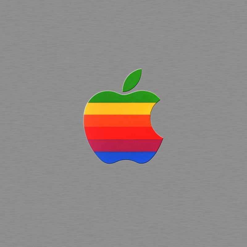 10 Most Popular Old Apple Logo Wallpaper FULL HD 1920×1080 For PC Background 2018 free download old apple big metal awesome wallpapers 800x800