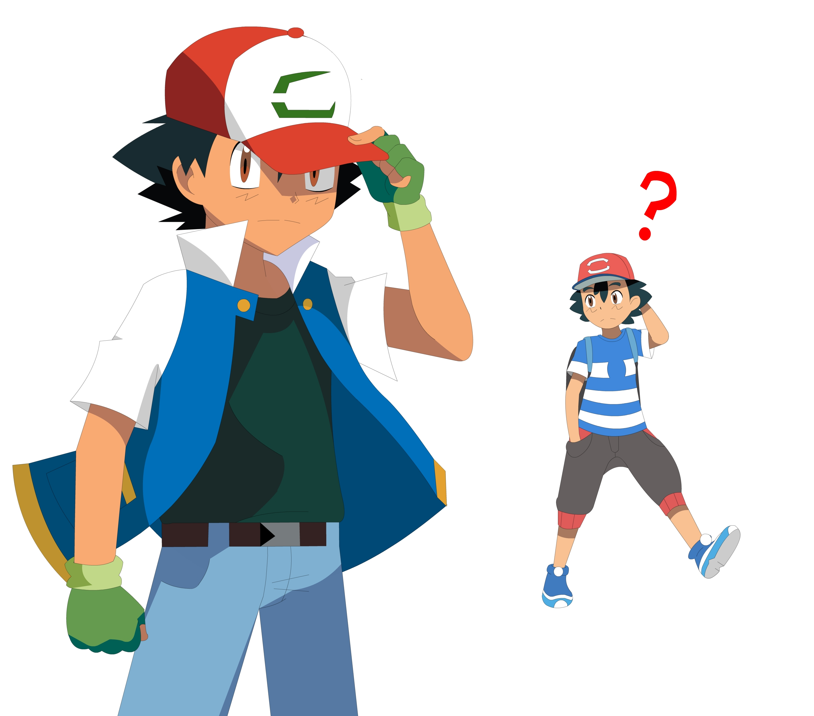 old ash and new ash | pokémon sun and moon | know your meme