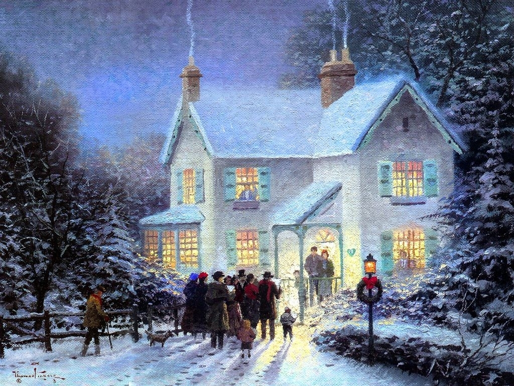 old fashioned christmas wallpapers | hd wallpapers | pinterest