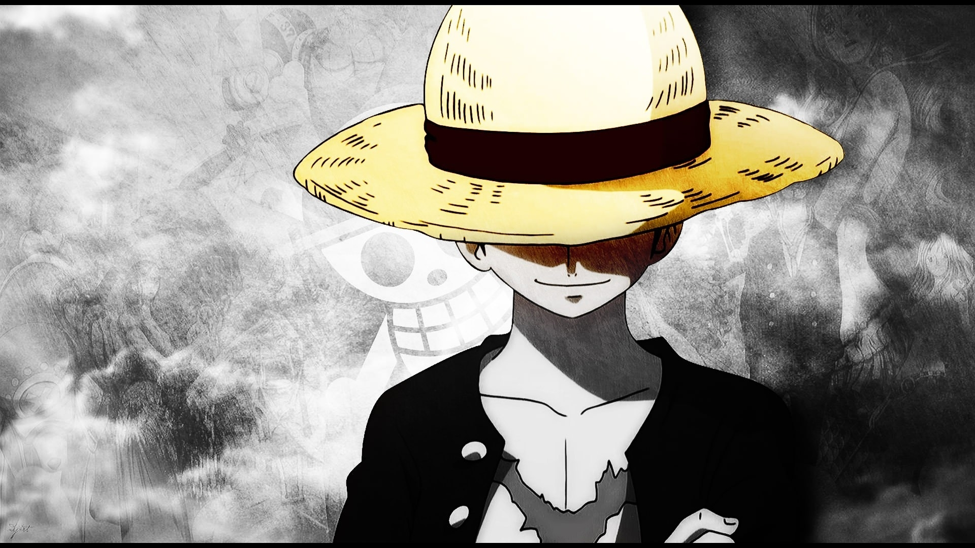 one piece luffy new world wallpapers wide » cinema wallpaper 1080p