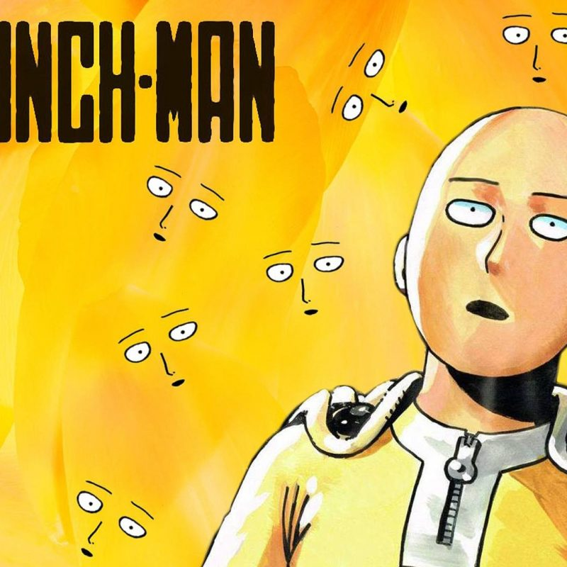 10 New One Punch Man Backgrounds FULL HD 1080p For PC Desktop 2018 free download one punch man saitama face full hd wallpaper and background image 800x800
