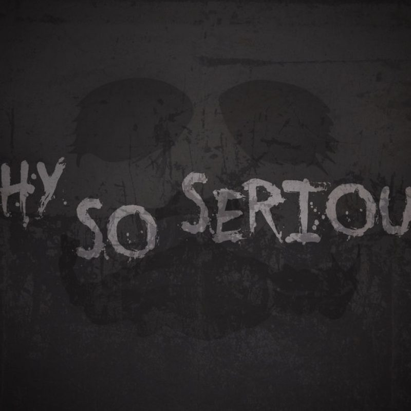 10 Latest Why So Serious Wallpapers FULL HD 1920×1080 For