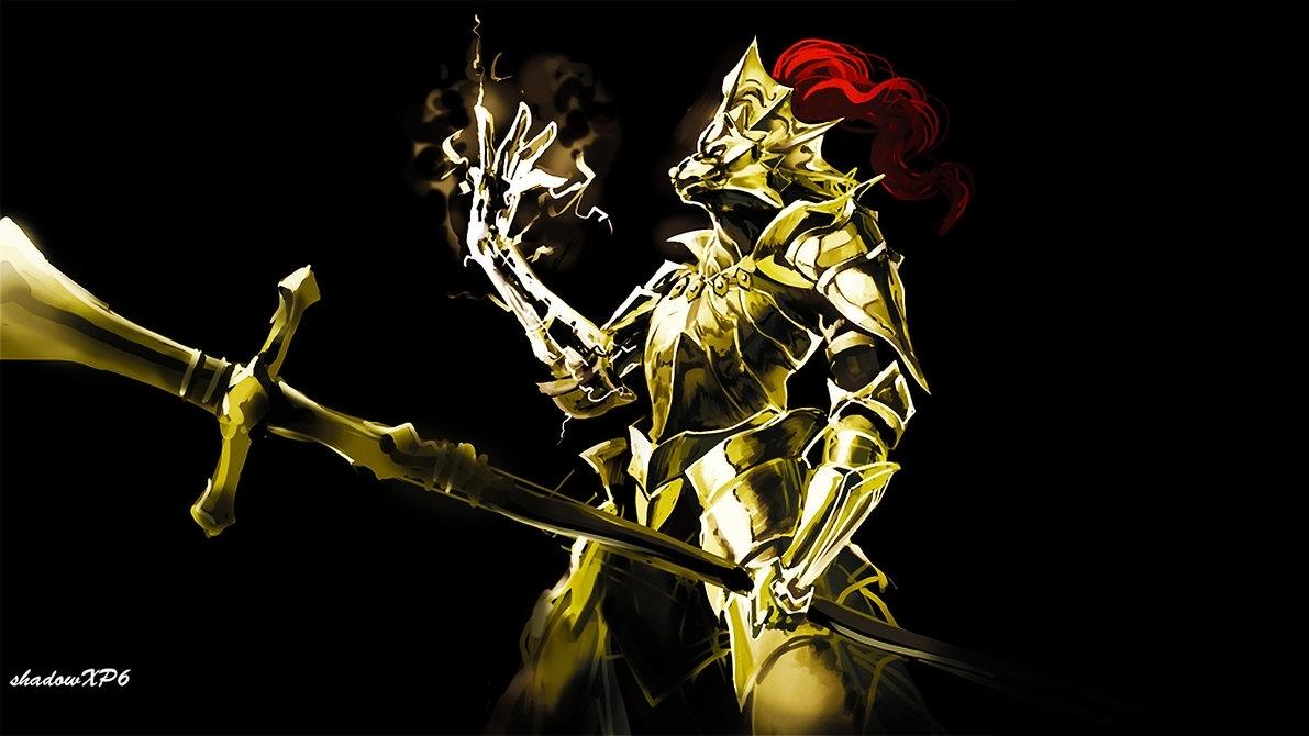ornstein the dragon slayershadowxp6 on deviantart