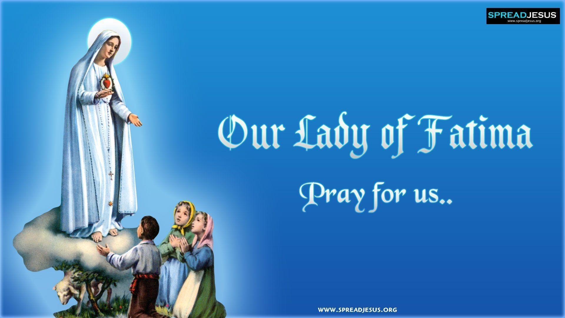 our lady of fátima wallpapers - wallpaper cave