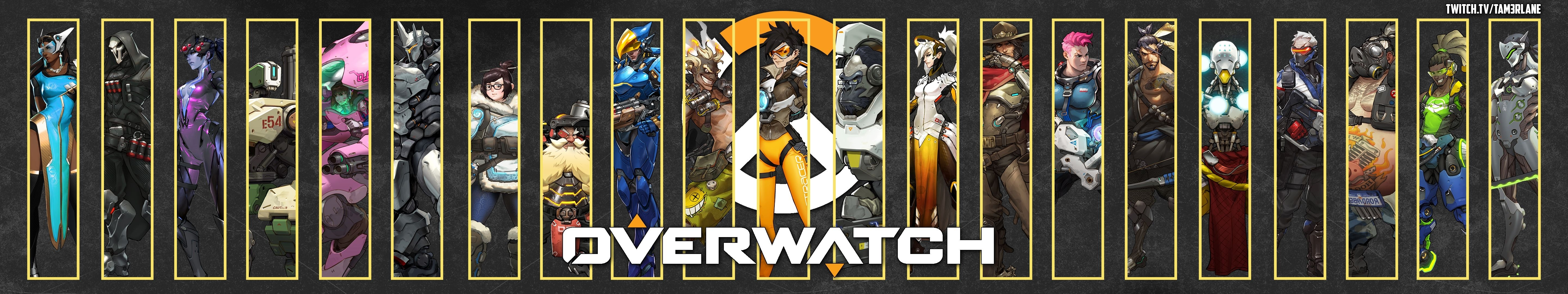 overwatch triple monitor wallpaper - 5760x1080 - enjoy