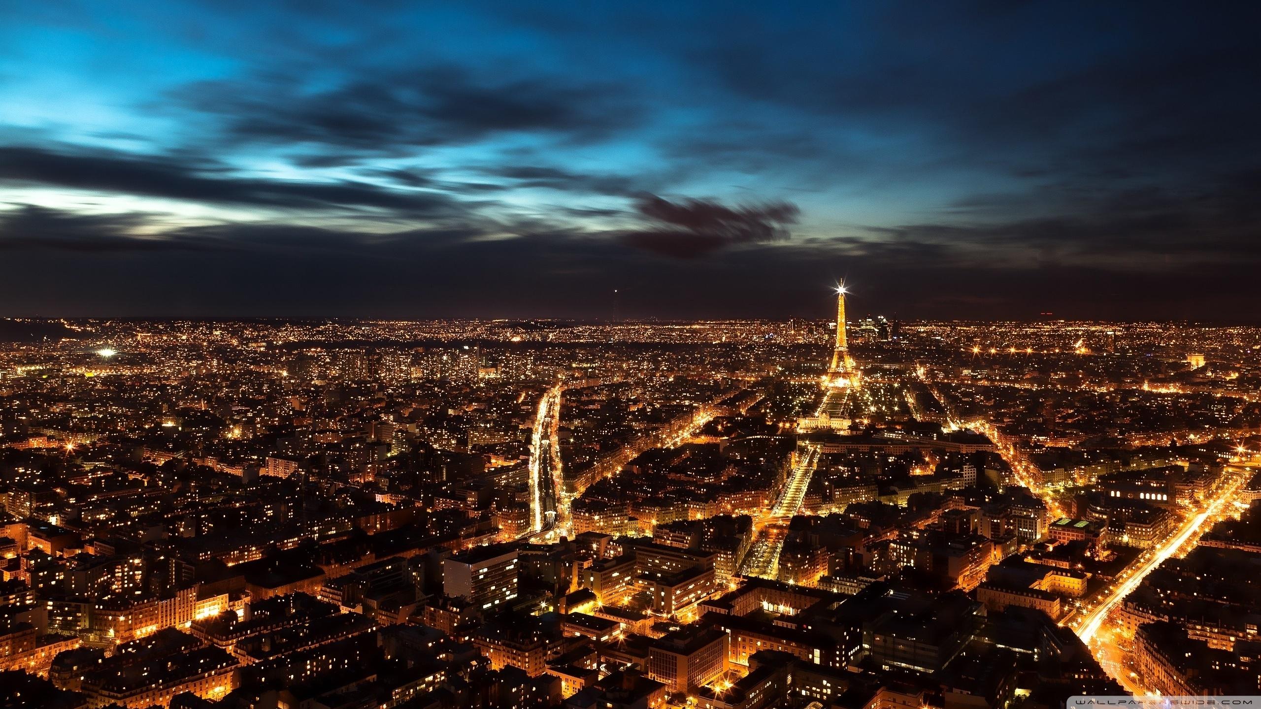 paris city lights ❤ 4k hd desktop wallpaper for 4k ultra hd tv