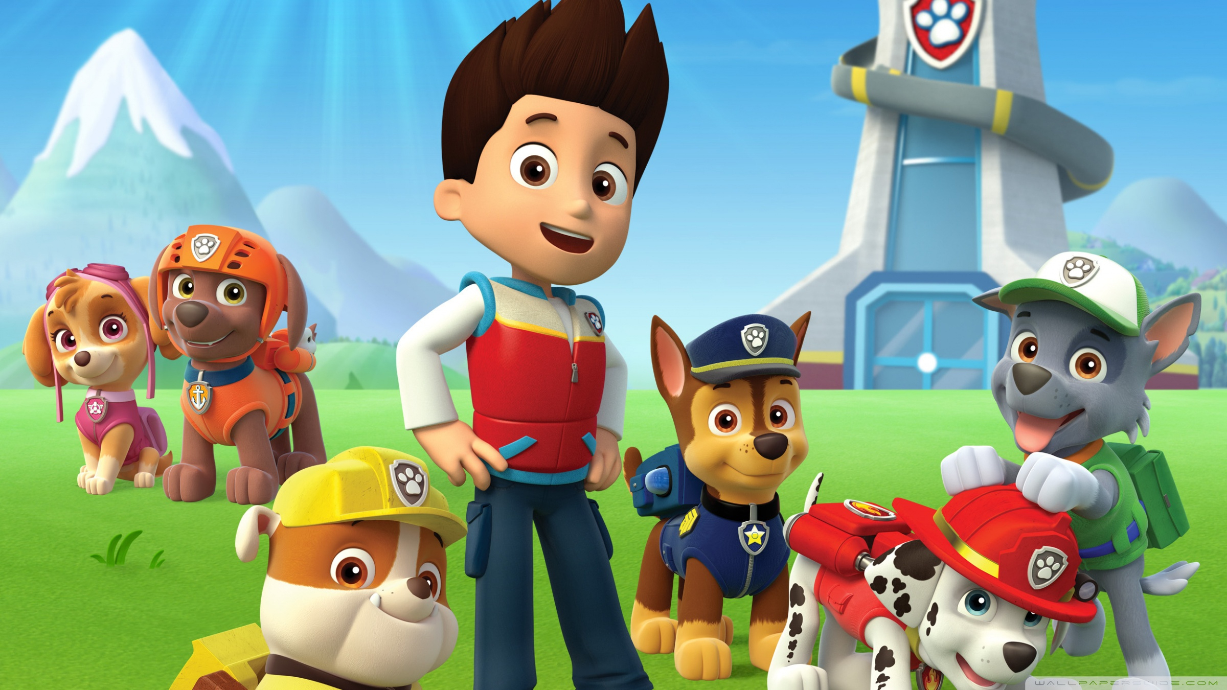 10 Latest Paw Patrol Wallpapers FULL HD 1080p For PC ...