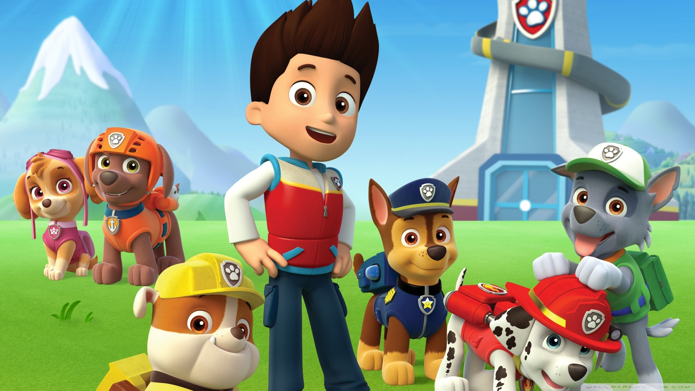 paw patrol ❤ 4k hd desktop wallpaper for 4k ultra hd tv • wide