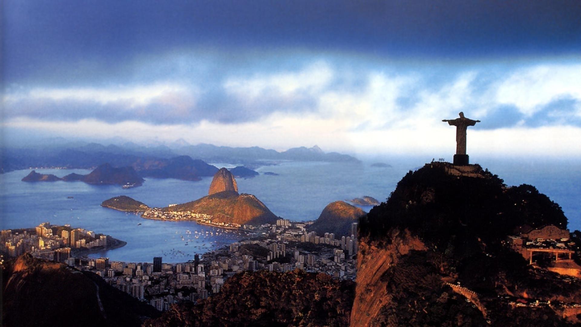 paysages nature brésil rio de janeiro de voyage papier peint