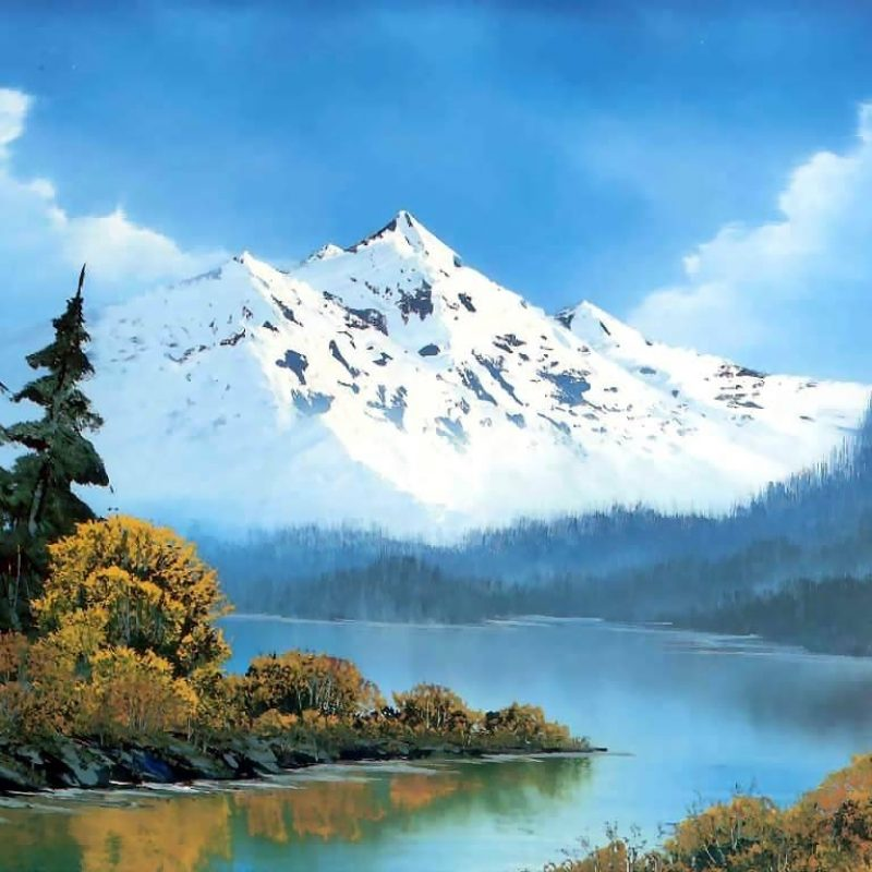 10 New Bob Ross Desktop Wallpaper FULL HD 1080p For PC Background 2018 free download peaceful watersbob ross history analysis facts 800x800