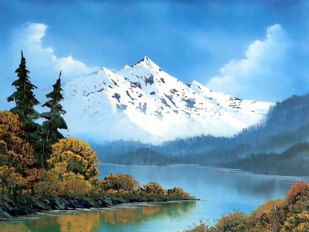 peaceful watersbob ross: history, analysis & facts