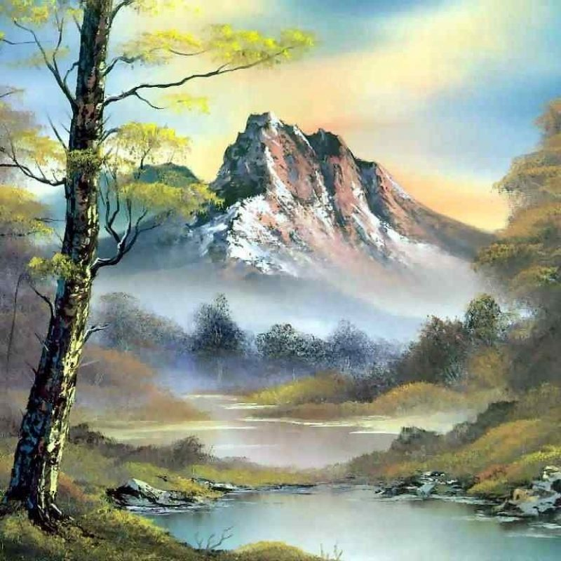 10 New Bob Ross Desktop Wallpaper FULL HD 1080p For PC Background 2018 free download peindre un paysage realiste en 30 min slave 2 0 800x800