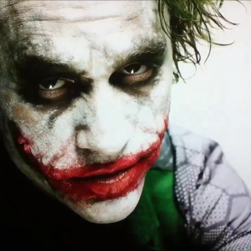10 Best Heath Ledger As Joker Pictures FULL HD 1080p For PC Desktop 2021 free download photos of heath ledger testing out the joker costume for the dark 800x800