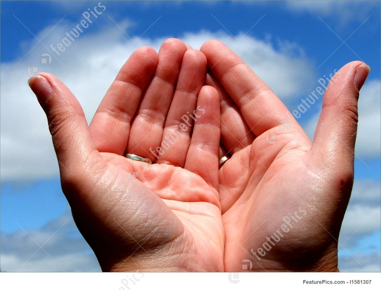 picture of praying hands