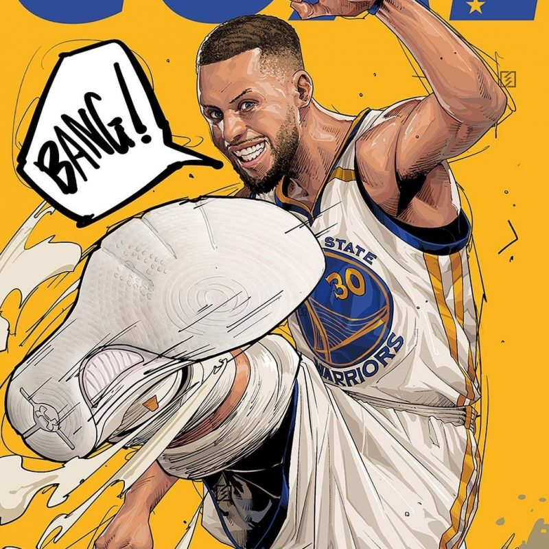 10 New Stephen Curry Cartoon Wallpaper FULL HD 1080p For PC Desktop 2020 free download pindennis bullock on fly art stuff pinterest champion 800x800