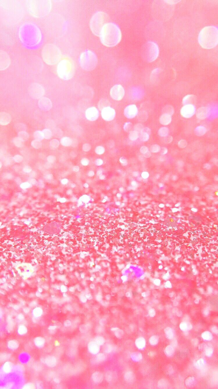 pink glitter wallpaper | <3 | iphone wallpaper glitter, pink glitter
