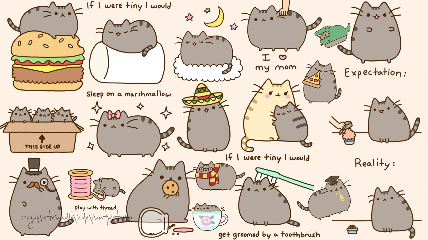 pinmavissywong on pusheen the cat | pinterest | pusheen and
