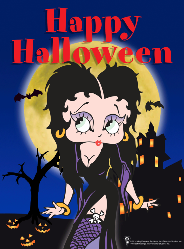 10 Best Betty Boop Halloween Wallpaper FULL HD 1920×1080 For PC Desktop 2018 free download pinterest 592x800