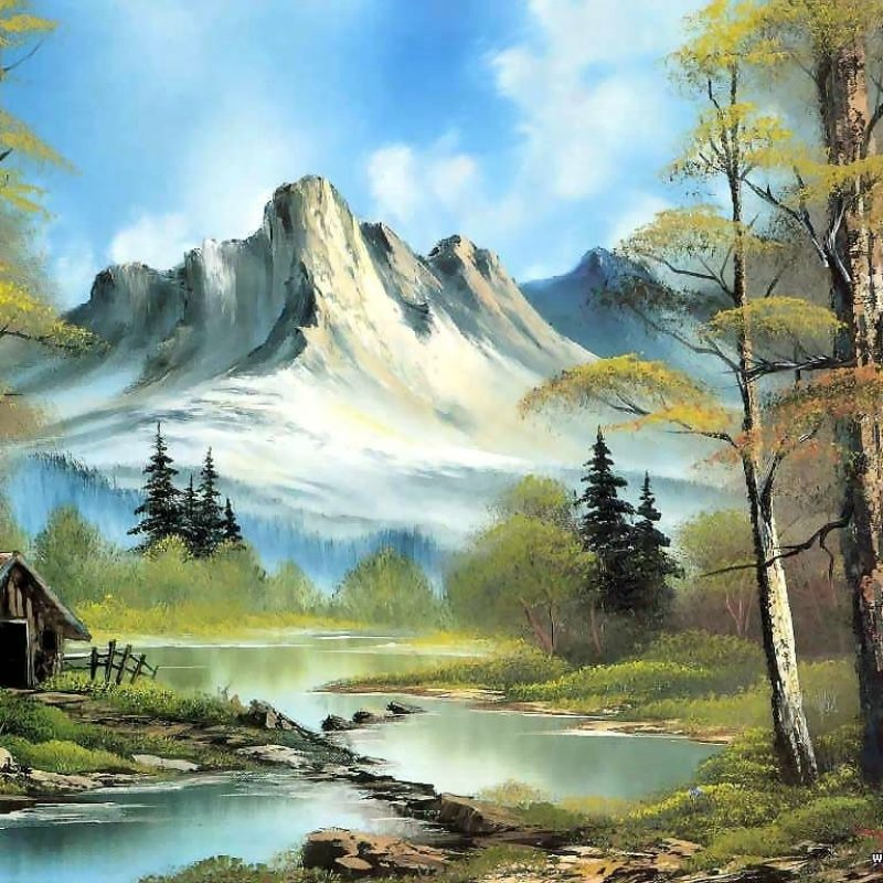 10 Most Popular Bob Ross Painting Wallpaper FULL HD 1080p For PC Desktop 2018 free download pinturas al oleo imagenes de bob ross bob ross bobs and painting 800x800