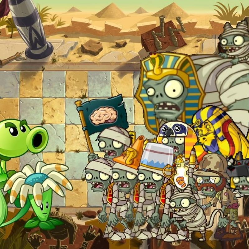 10 Best Plant Vs Zombies 2 Wallpaper FULL HD 1080p For PC Background 2018 free download plants vs zombies 2 ancient egypt wallpaperphotographerferd on 2 800x800
