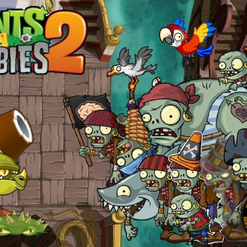 10 Best Plant Vs Zombies 2 Wallpaper FULL HD 1080p For PC Background 2018 free download plants vs zombies 2 pirate seas wallpaperphotographerferd on 2 800x800