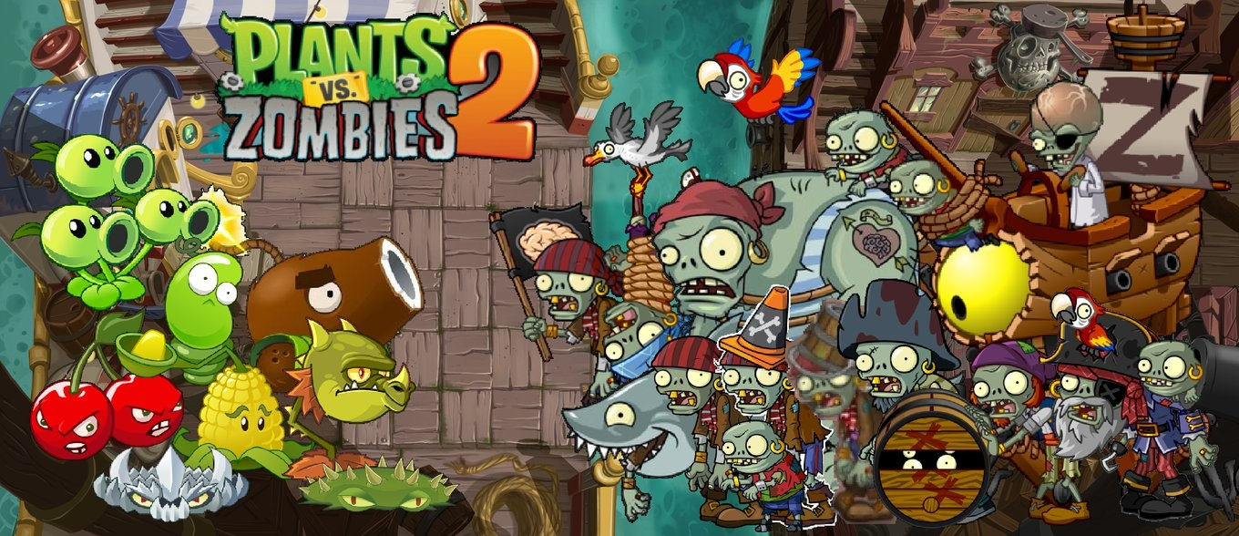 plants vs zombies 2 pirate seas wallpaperphotographerferd on