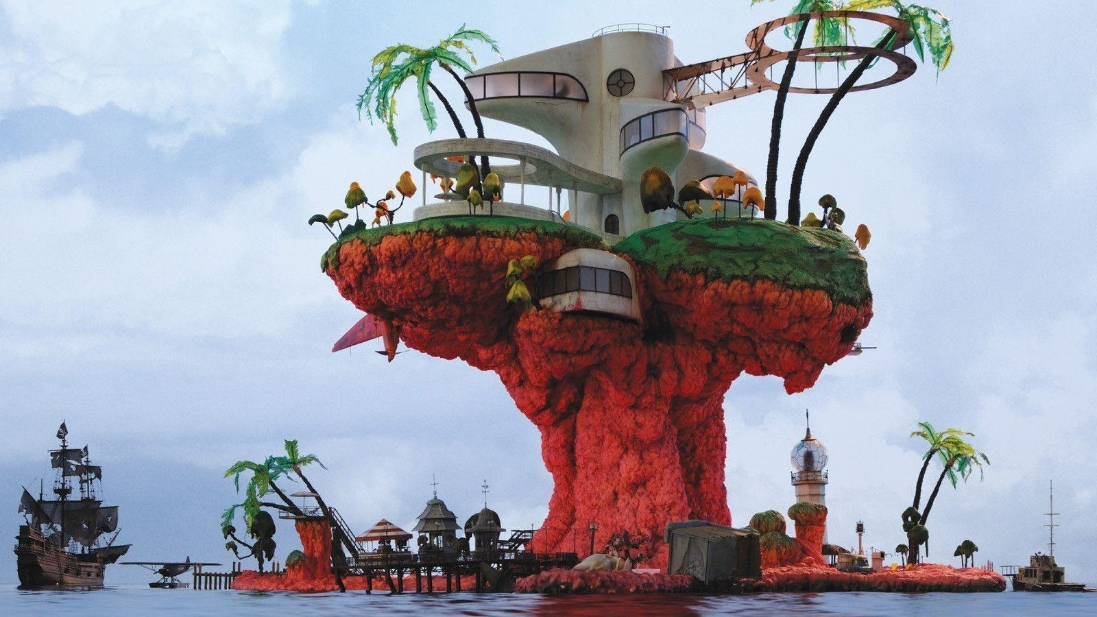 plastic beach wallpapers - wallpaper cave