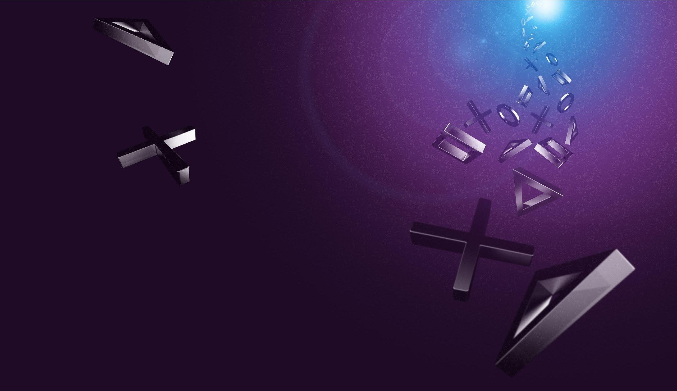 playstation logos wallpaper | playstation x○□△ | pinterest
