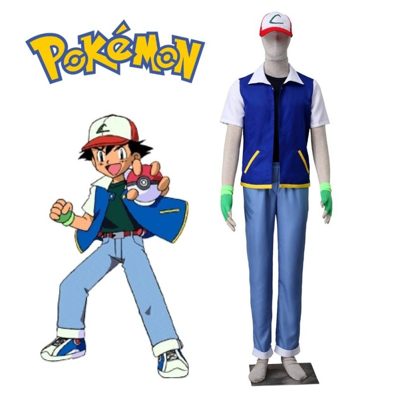 10 New Pictures Of Ash From Pokemon FULL HD 1920×1080 For PC Desktop 2018 free download pokemon ash ketchum cosplay costume short sleeve jacket black t 800x800