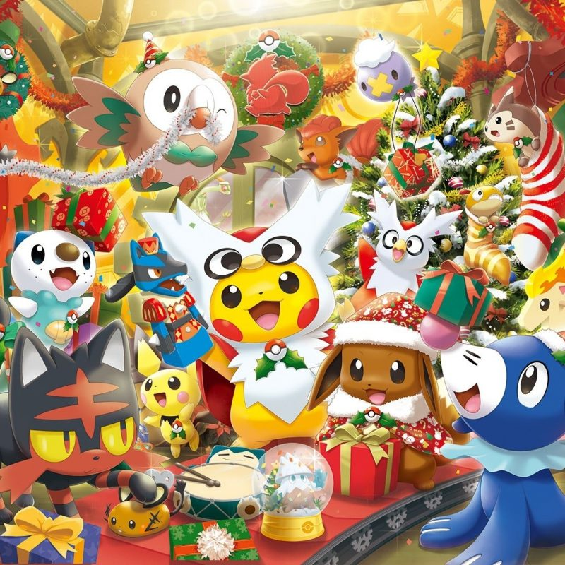 10 Most Popular Pokemon Christmas Wallpaper Hd FULL HD 1080p For PC Desktop 2018 free download pokemon christmas wallpapers free hd wallpapers pinterest 800x800