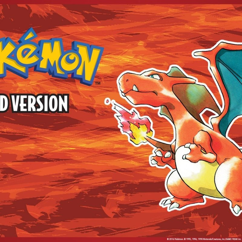 10 New Pokemon Red Version Wallpaper FULL HD 1080p For PC Desktop 2018 free download pokemon desktop background wallpapers play nintendo 800x800