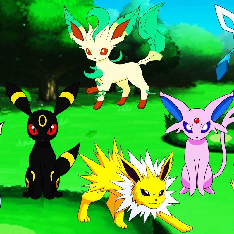 10 Best Images Of Eevee Evolutions FULL HD 1080p For PC Desktop 2020 free download pokemon eevee evolutions eeveeloution umbreon jolteon vaporeon 1 800x800