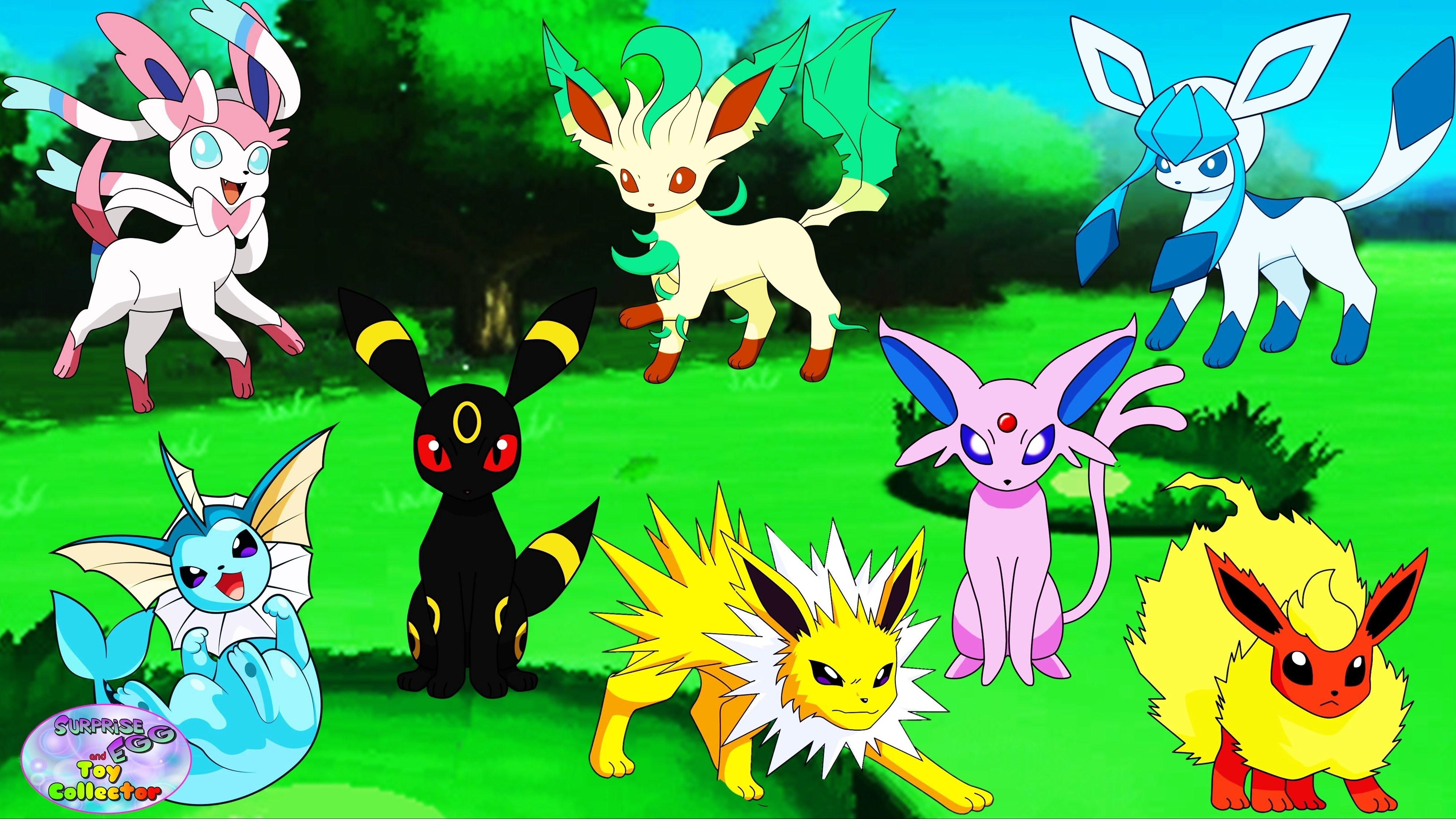 pokemon eevee evolutions eeveeloution umbreon jolteon vaporeon
