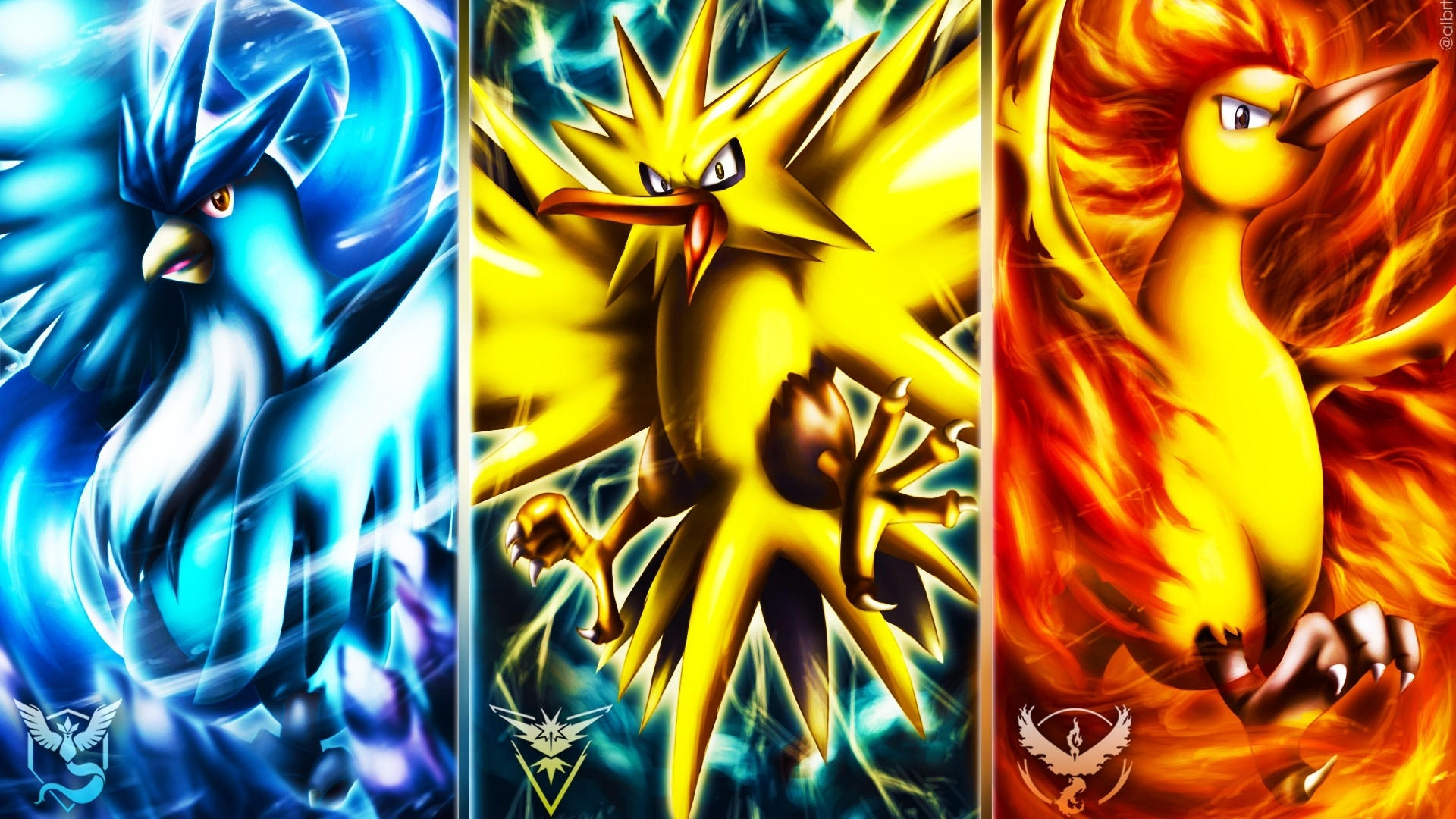 pokemon go articuno zapdos moltres wallpaper #212
