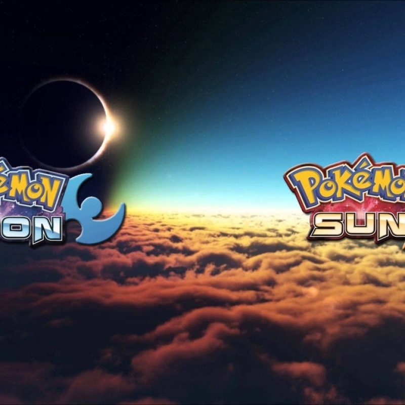 10 Best Pokemon Sun And Moon Wallpaper 1920X1080 FULL HD 1080p For PC Background 2018 free download pokemon moon and sun desktop wallpaper sam fordsam15041999 on 800x800