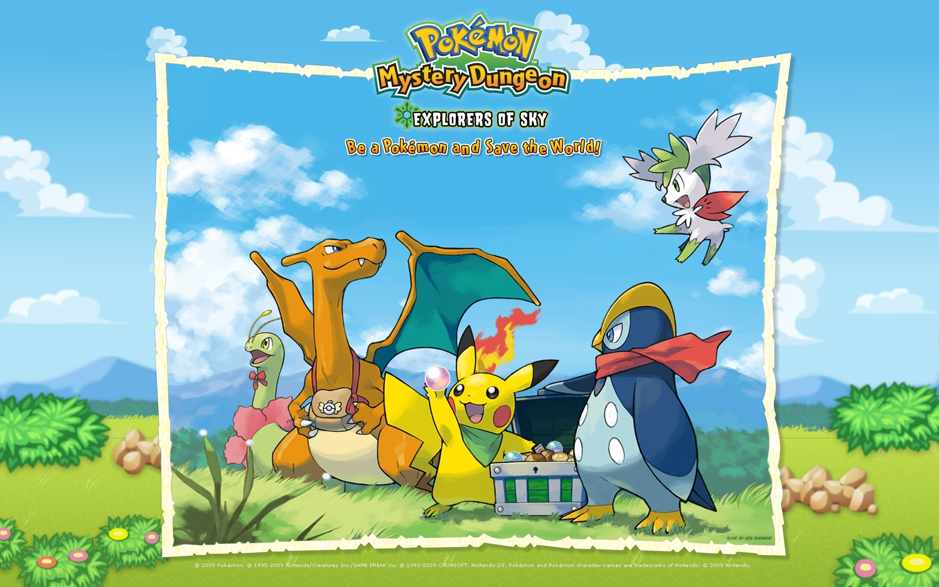 pokémon mystery dungeon: explorers of sky details - launchbox games