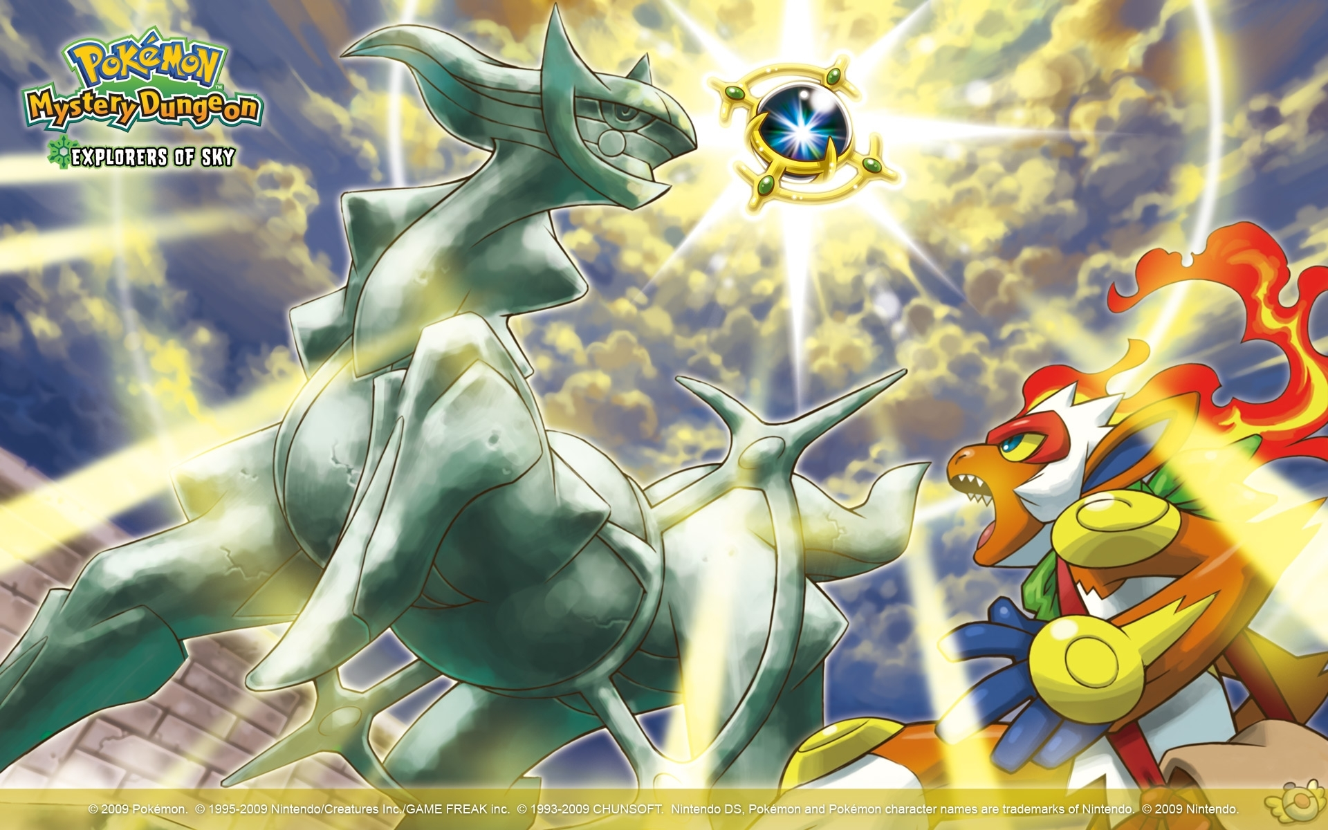 pokémon mystery dungeon: explorers of sky full hd wallpaper and