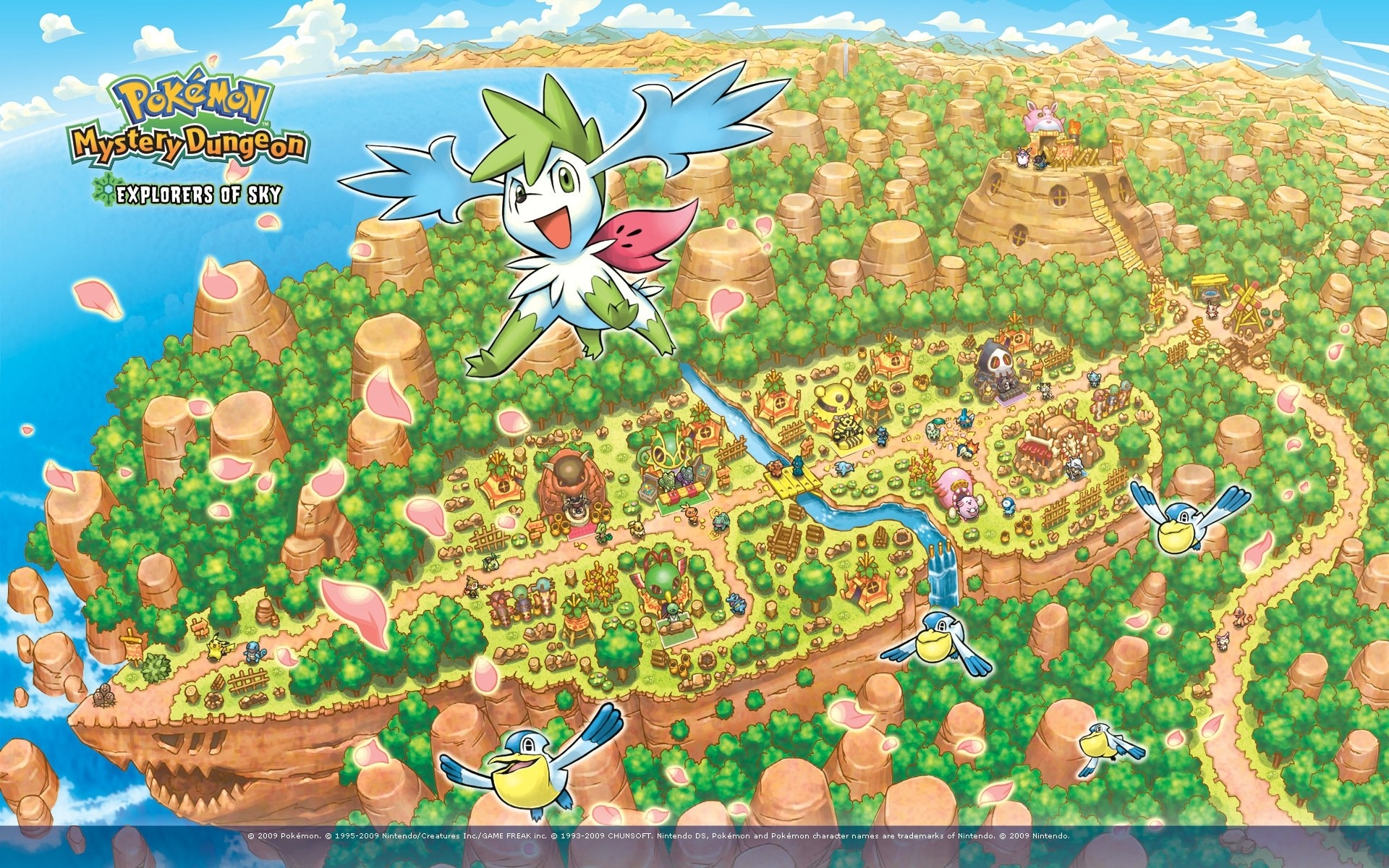 pokemon mystery dungeon explorers of the sky - walldevil