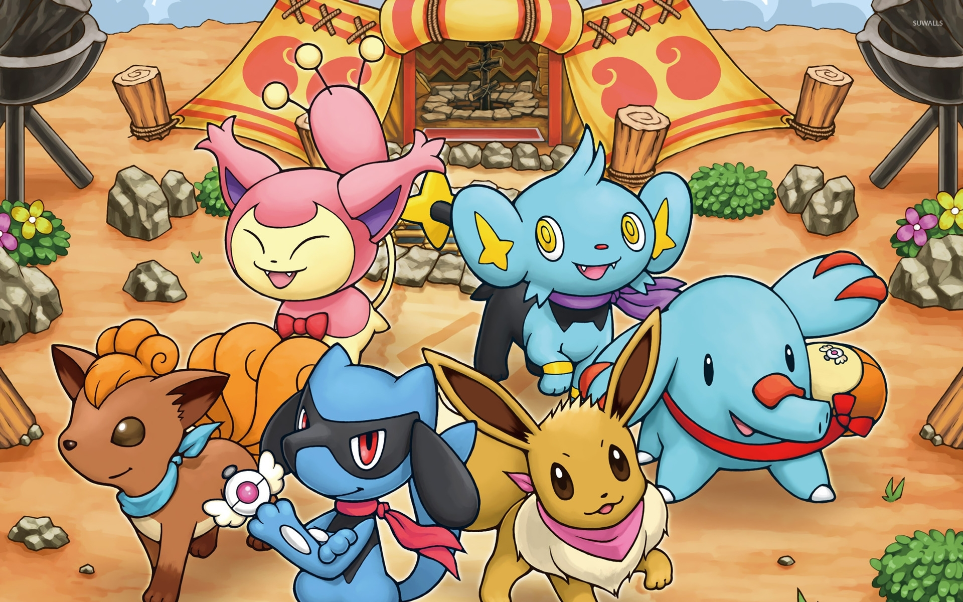 pokemon mystery dungeon wallpaper - game wallpapers - #16426
