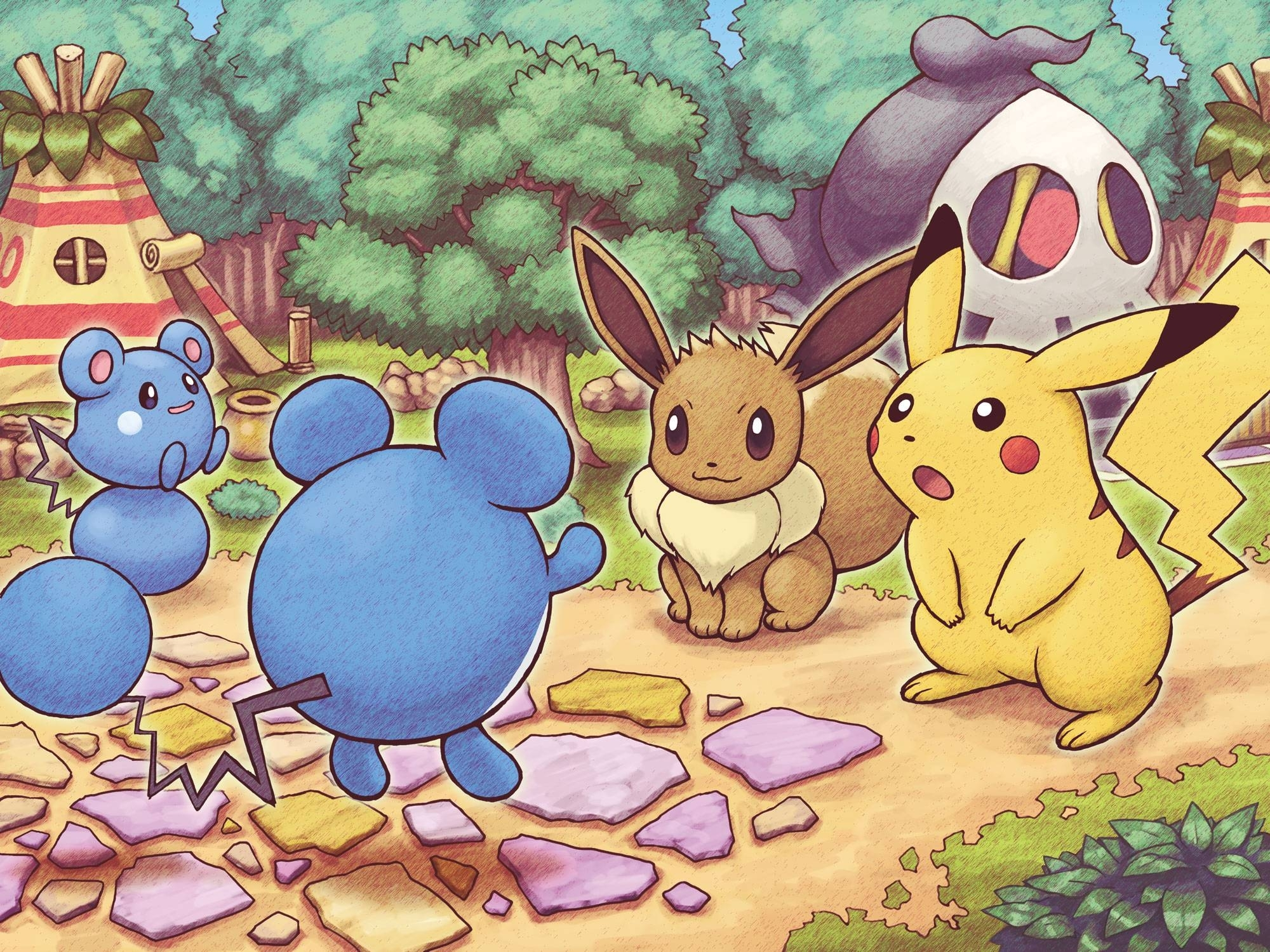 pokemon mystery dungeon wallpapers - wallpaper cave