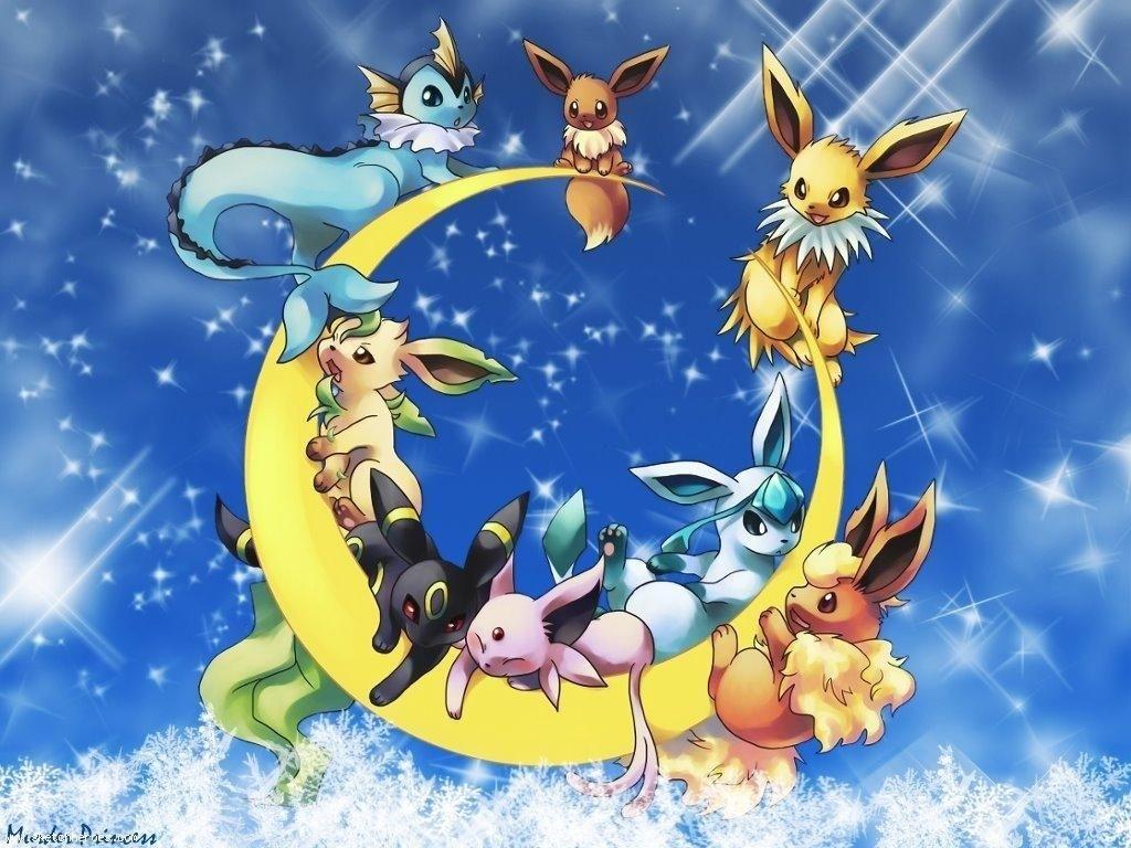 pokemon pictures   eeveelution wallpaper - pokémon wallpaper