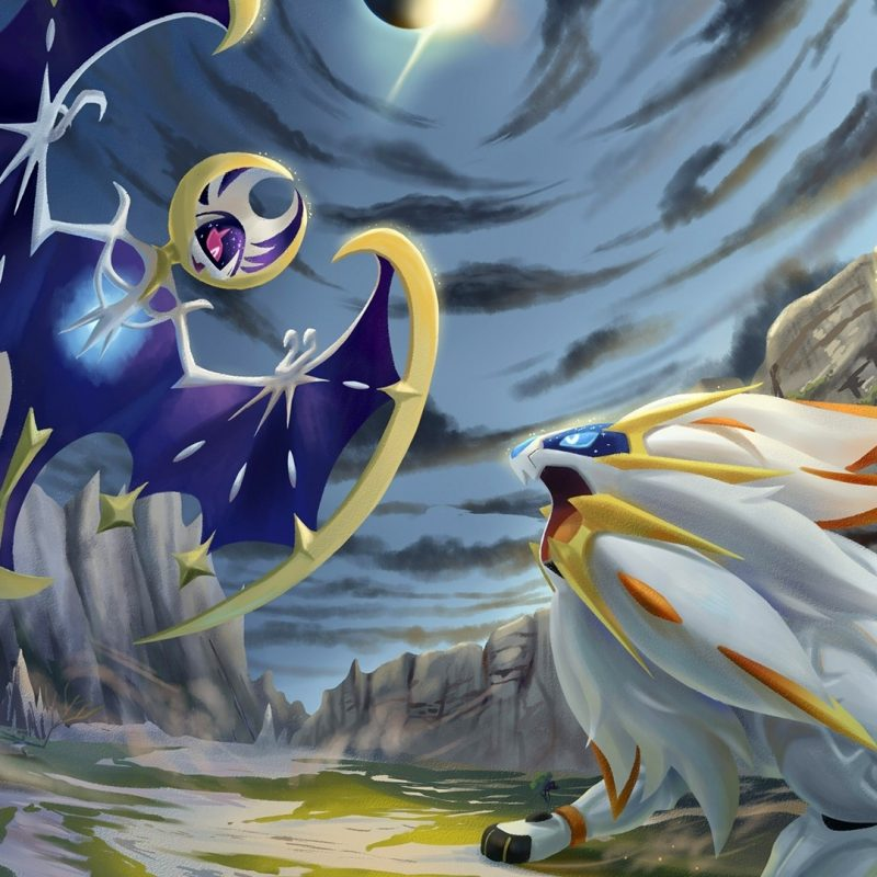 10 Best Pokemon Sun And Moon Wallpaper 1920X1080 FULL HD 1080p For PC Background 2018 free download pokemon sun and moon solgaleo vs lun wallpaper 5774 2 800x800