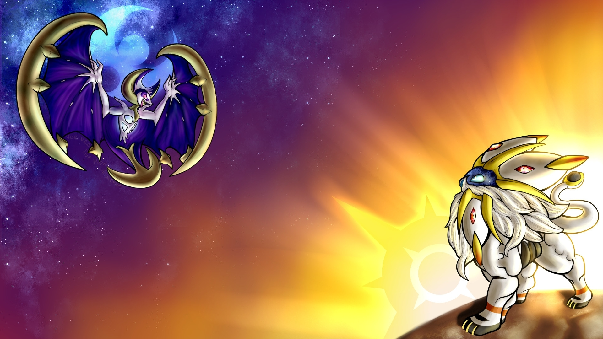 pokemon sun and moon wallpaper (79+ images)