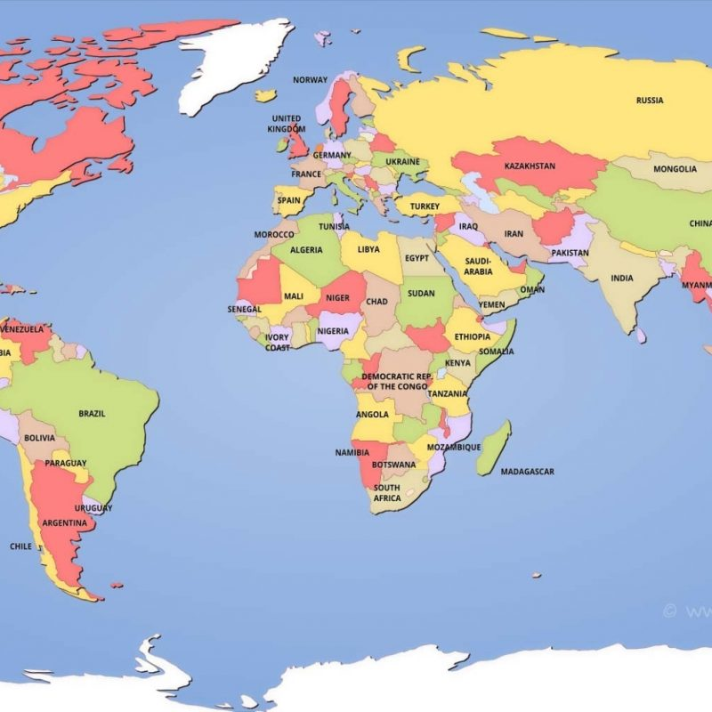 10 New World Map Hd Image FULL HD 1920×1080 For PC Desktop 2020 free download political world maps 800x800