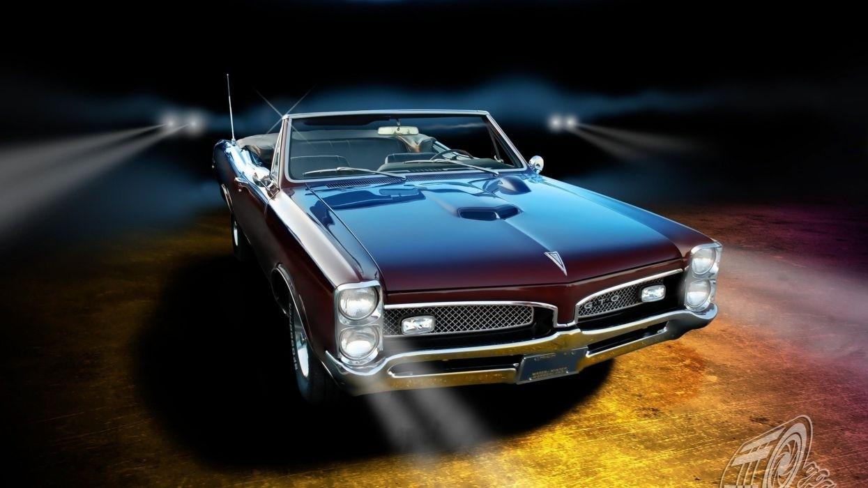 pontiac gto classic muscle cars wallpaper | 2560x1440 | 80318