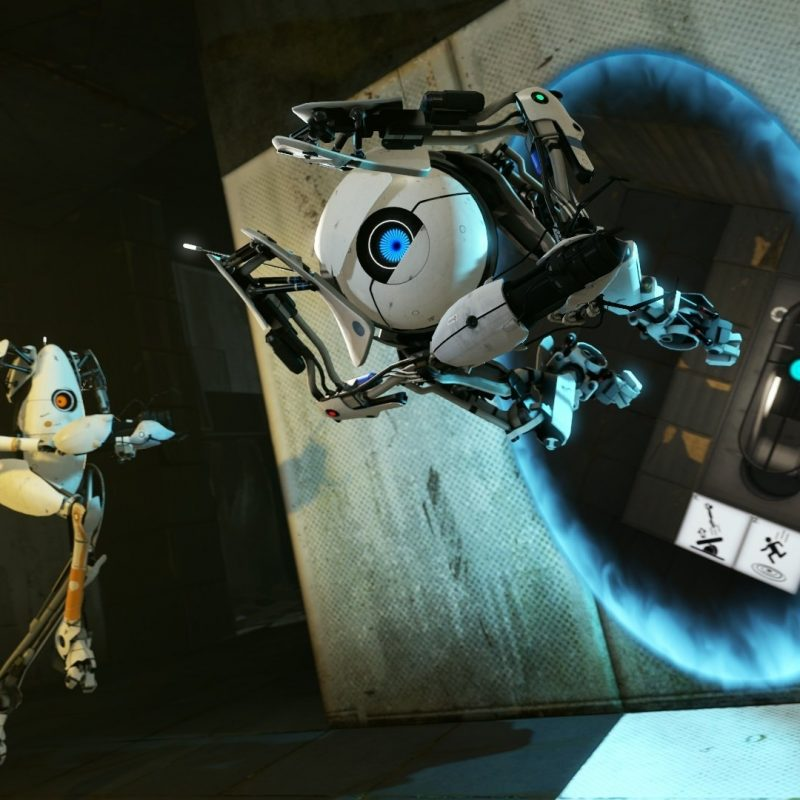 10 Top Portal 2 Wallpapers Hd FULL HD 1080p For PC Background 2018 free download portal 2 wallpapers hd wallpapers id 10436 1 800x800