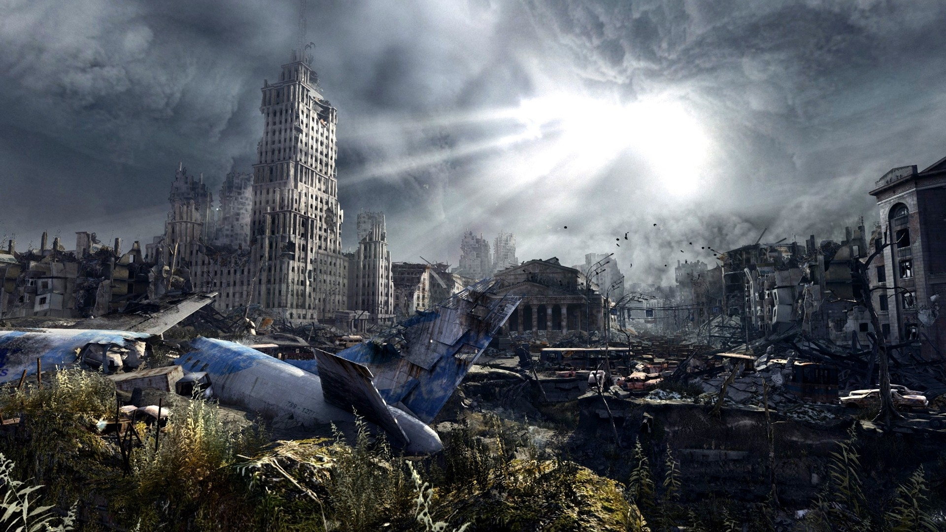 post-apocalyptic-city-zombie (jpeg image, 1920 × 1080 pixels