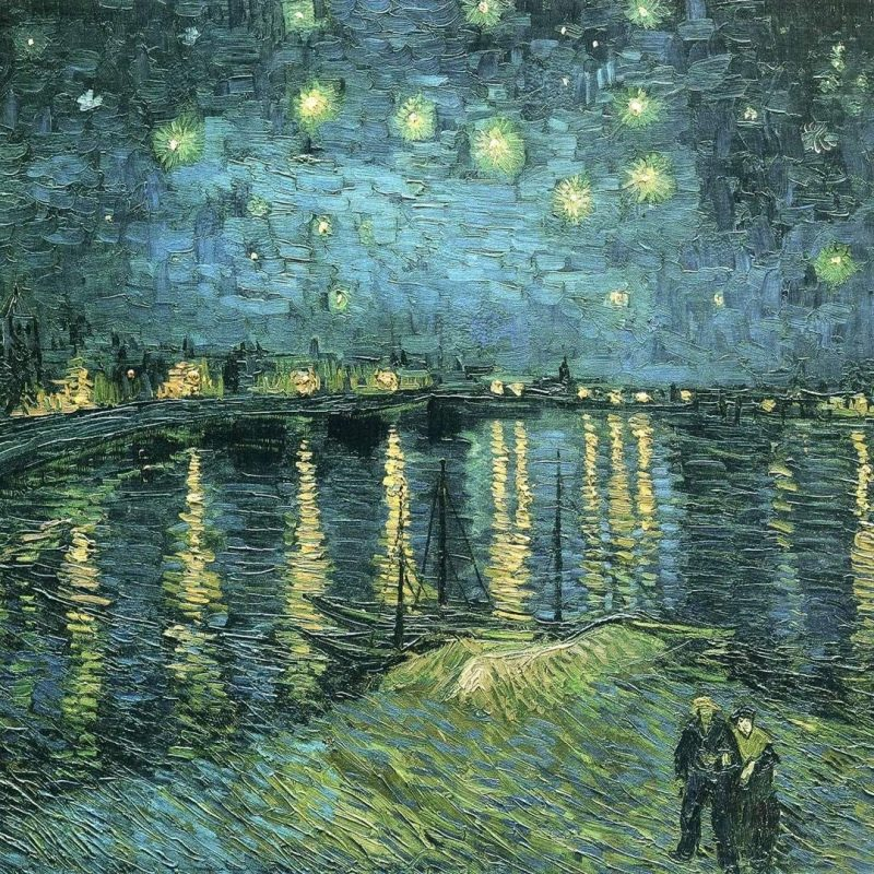 10 New Starry Night Over The Rhone Wallpaper FULL HD 1080p For PC Background 2020 free download post impressionist art the rhone post impressionist vincent 800x800